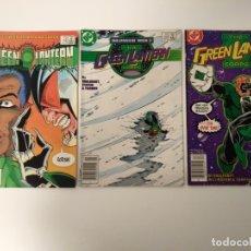 Cómics: LOTE 3 COMICS GREEN LANTERN. NºS 190, 219, 220. ORIGINAL USA. DC COMICS.. Lote 173660204