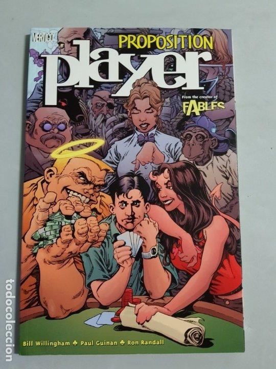 PROPOSITION PLAYER TOMO AMERICANO ESTADO MUY BUENO MAS ARTICULOS NEGOCIABLE (Tebeos y Comics - Comics Lengua Extranjera - Comics USA)