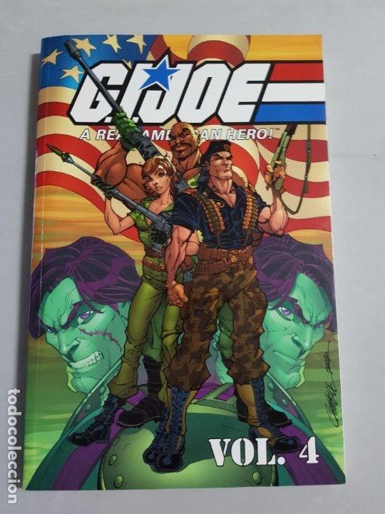 GIJOE A REAL AMERICAN HERO VOL.4 TOMO AMERICANO ESTADO MUY BUENO MAS ARTICULOS NEGOCIABLE (Tebeos y Comics - Comics Lengua Extranjera - Comics USA)