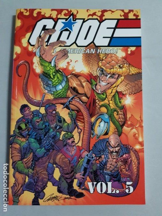 GIJOE A REAL AMERICAN HERO VOL.5 TOMO AMERICANO ESTADO MUY BUENO MAS ARTICULOS NEGOCIABLE (Tebeos y Comics - Comics Lengua Extranjera - Comics USA)
