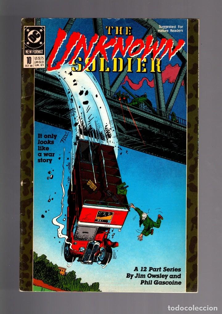 UNKNOWN SOLDIER 10 - DC 1989 VG (Tebeos y Comics - Comics Lengua Extranjera - Comics USA)