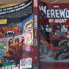 Cómics: WEREWOLF BY NIGHT MARVEL THE COMPLETE COLLECTION VOL.1. Lote 173853373