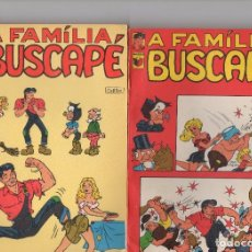 Cómics: FAMILIA BUSCAPE ( L´ABNER ) POR AL CAPP, 7 TOMOS DE 96 PÁGINAS. Lote 173871535