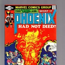 Cómics: WHAT IF 27 PHOENIX HAD NOT DIED ? - MARVEL 1981 VFN / X-MEN. Lote 173915375