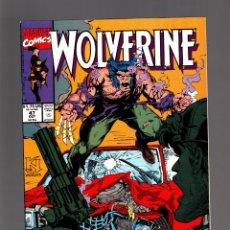 Comics : WOLVERINE 47 - MARVEL 1991 VFN / HAMA & DECAIRE. Lote 232108100