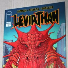 Comics: LEVIATHAN Nº1 (LAYMAN, PITARRA Y GARLAND). EXCEPCIONAL GRAFISMO. Lote 173931045