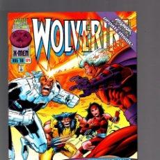 Cómics: WOLVERINE 104 - MARVEL 1996 VFN/NM / HAMA & SEMEIKS / ELEKTRA / ONSLAUGHT. Lote 173956482