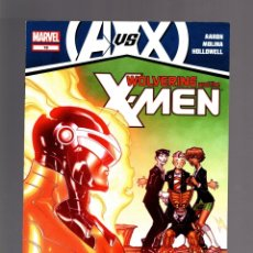 Cómics: WOLVERINE AND THE X-MEN 18 - MARVEL 2012 VFN/NM / AARON & MOLINA / AVENGERS VS X-MEN. Lote 173958229