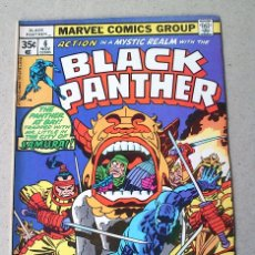 Cómics: BLACK PANTHER VOL 1 N 6 - 1977 - LEE KIRBY ROYER KATO - MARVEL. Lote 173998729