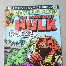 Cómics: THE INCREDIBLE HULK VOL 1 N 98 - 1981 - LEE GOODWIN TRIMPE SEVERIN ROSEN - MARVEL. Lote 174046007