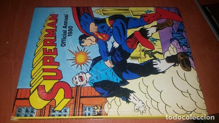 SUPERMAN, OFFICIAL ANNUAL 1980, TAPA DURA, TEXTO EN INGLES (Tebeos y Comics - Comics Lengua Extranjera - Comics USA)