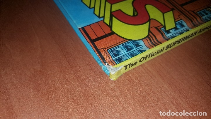 Cómics: Superman, official annual 1980, tapa dura, texto en ingles - Foto 2 - 174280318