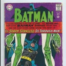Comics : BATMAN Nº 195 (1967). INGLES. BUEN ESTADO. PORTADA INFANTINO. Lote 174325012