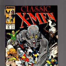 Fumetti: X-MEN CLASSIC 22 ( UNCANNY X-MEN 116 ) MARVEL 1988 VFN+ NEW ARTHUR ADAMS COVER + STORM STORY. Lote 174356952