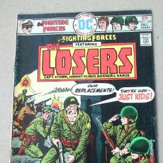 Cómics: OUR FIGHTING FORCES THE LOSERS VOL 22 N 162 - 1975 - DC - KIRBY. Lote 174423593