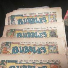 Cómics: 4 BUBBLES AÑO TRES DE 1933 Y UNO DE 1934. Lote 174495963