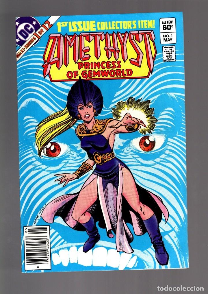 AMETHYST PRINCESS OF GEMWORLD 1 - DC 1983 VFN / GARY COHN & ERNIE COLÓN (Tebeos y Comics - Comics Lengua Extranjera - Comics USA)