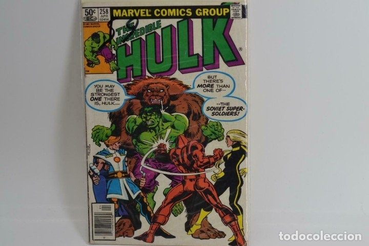 US MARVEL: INCREDIBLE HULK #258 SOVIET SUPER SOLDIERS (MARVEL) (Tebeos y Comics - Comics Lengua Extranjera - Comics USA)