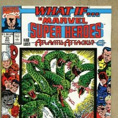 Cómics: US MARVEL: WHAT IF? VOLUME 2 - 25. WHAT IF? MARVEL SUPER HEROES HAD LOST ATLANTIS ATTACKS. INEDITO.. Lote 174968709