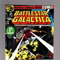 Cómics: BATTLESTAR GALACTICA 1 - MARVEL 1979 VFN-. Lote 175024110