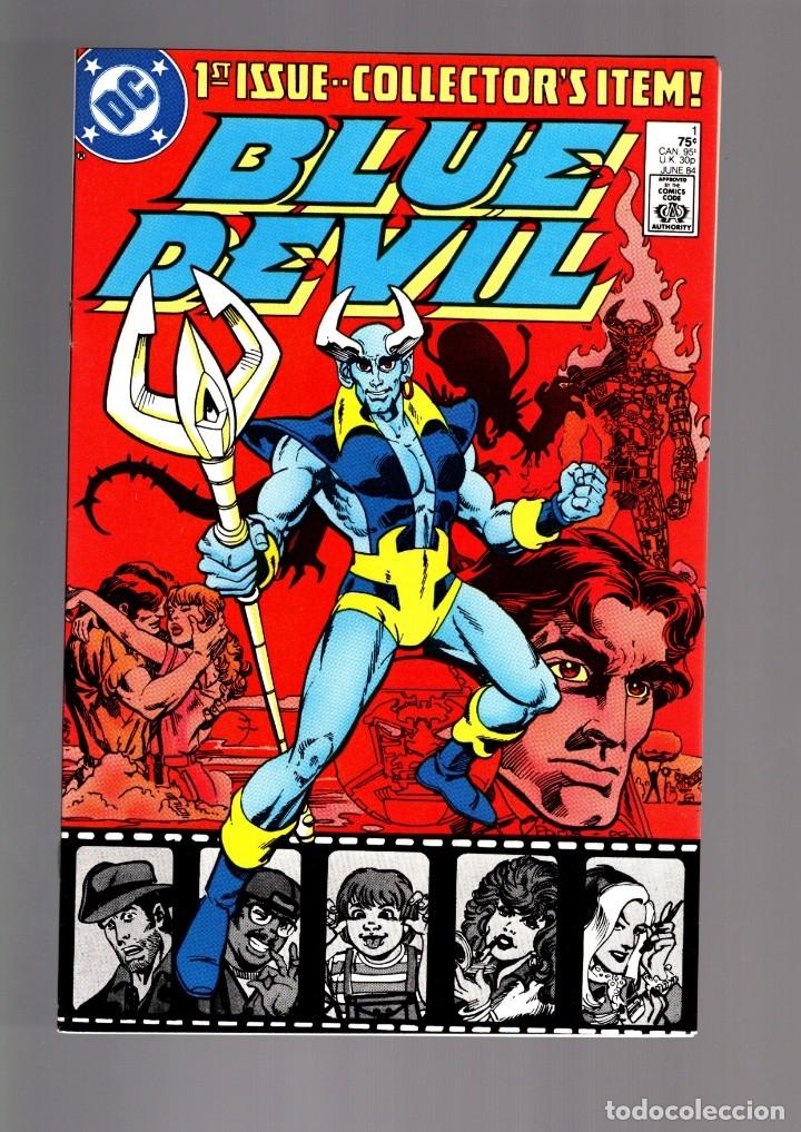 BLUE DEVIL 1 - DC 1984 VFN/NM / COHN & CULLINS (Tebeos y Comics - Comics Lengua Extranjera - Comics USA)