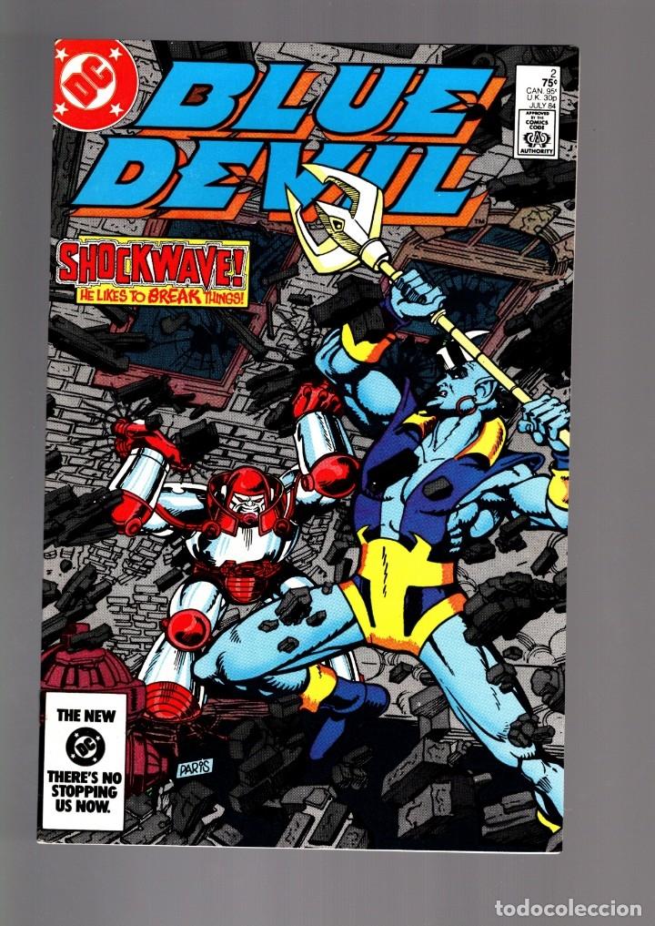 BLUE DEVIL 2 - DC 1984 VFN/NM / COHN & CULLINS (Tebeos y Comics - Comics Lengua Extranjera - Comics USA)