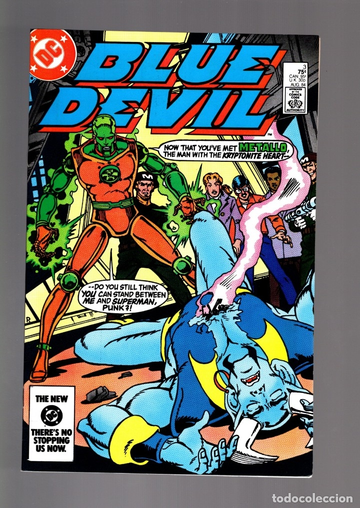 BLUE DEVIL 3 - DC 1984 VFN/NM / COHN & CULLINS / VS METALLO (Tebeos y Comics - Comics Lengua Extranjera - Comics USA)