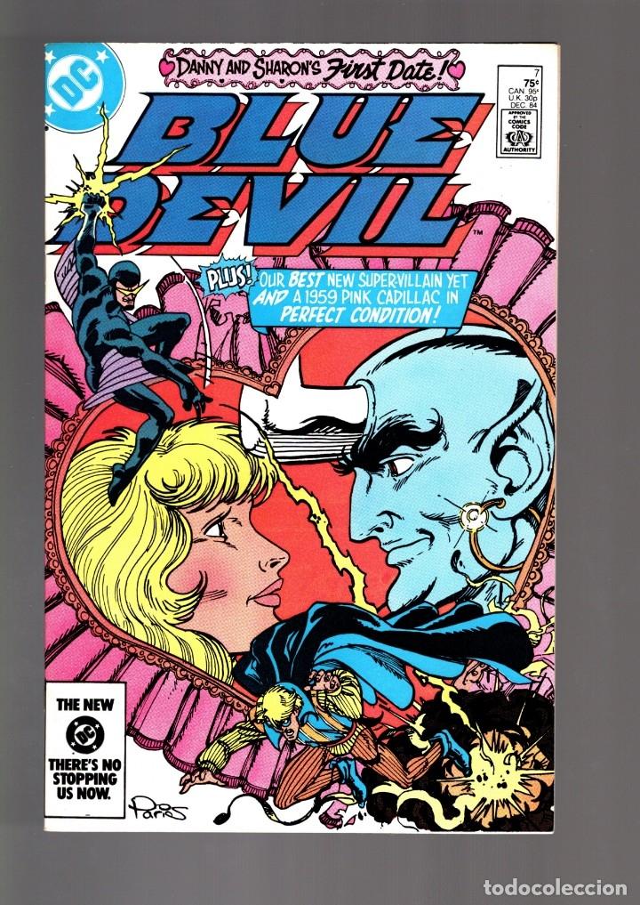 BLUE DEVIL 7 - DC 1984 VFN/NM / COHN & CULLINS (Tebeos y Comics - Comics Lengua Extranjera - Comics USA)
