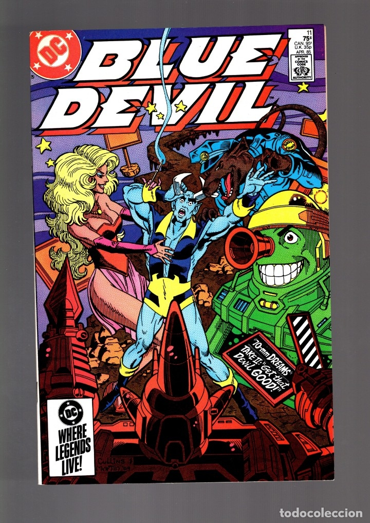 BLUE DEVIL 11- DC 1985 VFN/NM (Tebeos y Comics - Comics Lengua Extranjera - Comics USA)