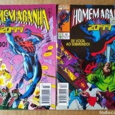 Cómics: LOTE HOMEM-ARANHA/SPIDERMAN 2099: NÚMEROS 3-12 (ABRIL JOVEM, 1993-1994). EDICION BRASILEÑA.. Lote 175214113