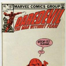 Cómics: DAREDEVIL - #187 (1964 SERIES) - (FN- 5.5) FRANK MILLER. Lote 175215134