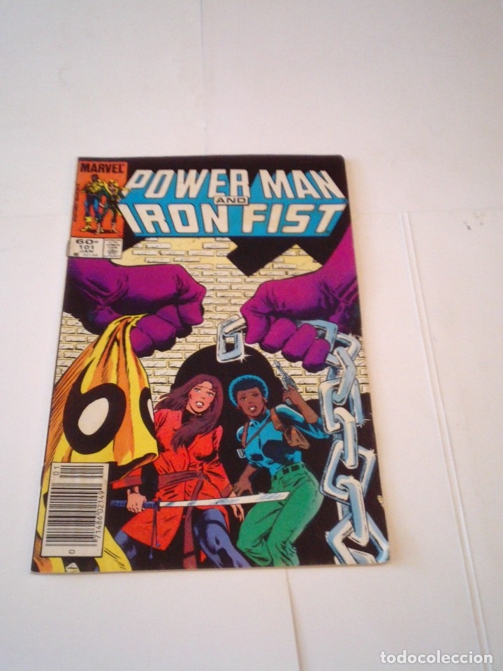 POWER MAN AND IRON FIST - NUMERO 101 - MARVEL - ORIGINAL USA - GORBAUD (Tebeos y Comics - Comics Lengua Extranjera - Comics USA)