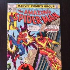 Cómics: AMAZING SPIDER-MAN 172 - SPIDERMAN - VG - MARVEL 1977 - ANDRU - 1ST ROCKET RACER. Lote 175423574