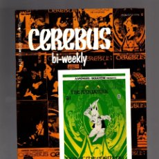 Cómics: CEREBUS BI-WEEKLY 8 - AARDVARK-VANAHEIM 1989 VFN . Lote 175566728