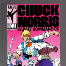 Cómics: CHUCK NORRIS 2 - MARVEL 1987 VFN . Lote 175566907