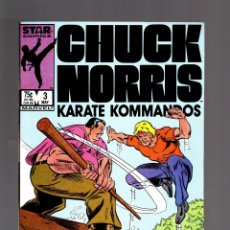 Cómics: CHUCK NORRIS 3 - MARVEL 1987 VFN . Lote 175566954