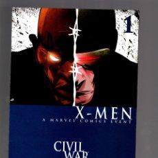 Cómics: CIVIL WAR X-MEN 1 - MARVEL 2006 NM. Lote 198402211