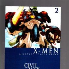 Cómics: CIVIL WAR X-MEN 2 - MARVEL 2006 NM. Lote 175567330