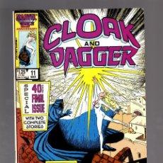 Cómics: CLOAK AND DAGGER 11 - MARVEL 1987 FN+ / ULTIMO NUMERO. Lote 175569084