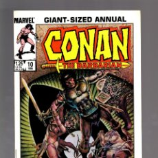 Cómics: CONAN THE BARBARIAN ANNUAL 10 - MARVEL 1985 VFN+. Lote 175571750