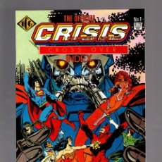 Cómics: CRISIS ON INFINITE EARTHS OFFICIAL CROSS-OVER INDEX - ICG 1986 VFN/NM. Lote 175574740