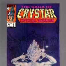 Cómics: CRYSTAR 5 - MARVEL 1984 VFN+ . Lote 175575454