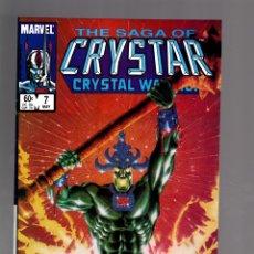 Cómics: CRYSTAR 7 - MARVEL 1984 VFN/NM. Lote 175575650