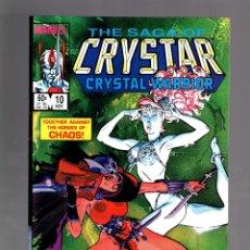 Cómics: CRYSTAR 10 - MARVEL 1984 VFN. Lote 175576305