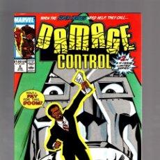 Cómics: DAMAGE CONTROL 2 - MARVEL 1989 VFN/NM / FANTASTIC FOUR / DOCTOR DOOM. Lote 175581124