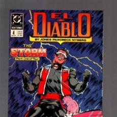 Cómics: EL DIABLO 4 - DC 1989 FN/VFN. Lote 175760289