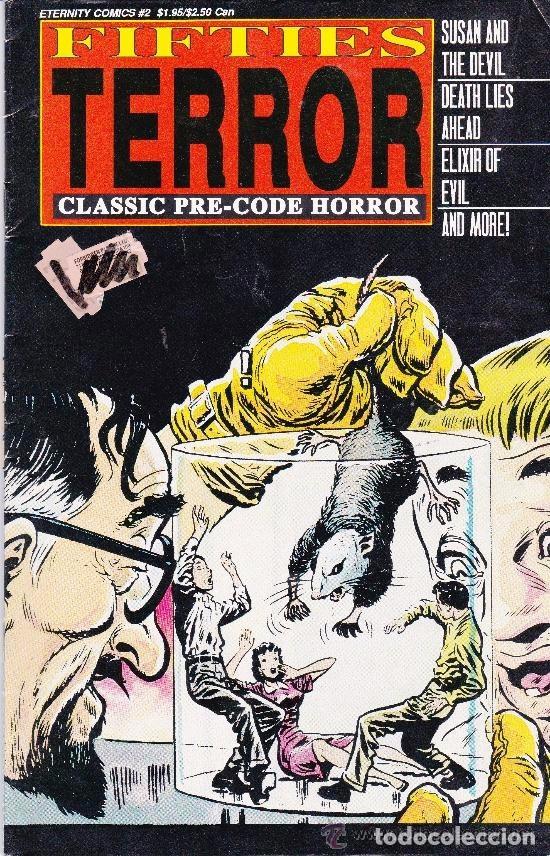 FIFTIES TERROR,1988 #2 (Tebeos y Comics - Comics Lengua Extranjera - Comics USA)