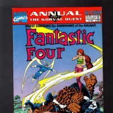 Cómics: FANTASTIC FOUR ANNUAL 24 - MARVEL 1991 FN+ / GUARDIANS OF THE GALAXY. Lote 175955012