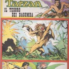 Cómics: TARZAN POR BURNE HOGARTH Y RUBIMOR 17 TOMOS A GRAN FORMATO EN IDIOMA ITALIANO. Lote 176054795