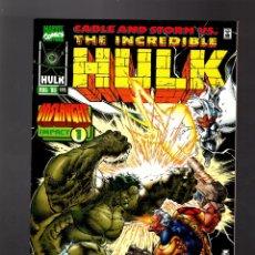 Cómics: INCREDIBLE HULK 444 - MARVEL 1996 VFN/NM / ONSLAUGHT. Lote 176075024